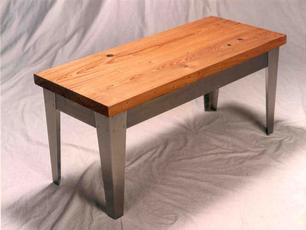 CypressStainlessBench