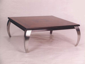 Contemporary Rosewood Coffee Table